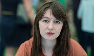 A photo of Irish author Sally Rooney