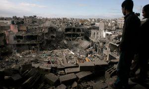 Photo of Gaza bombed out