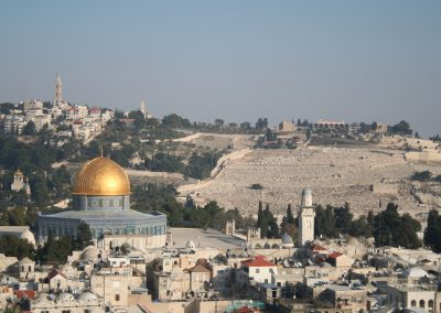 Photo of the Old City of Jerusalem with Al Aqsa Mosque