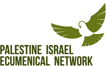 Logo of the Palestine Israel Ecumenical Network